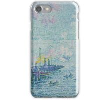 Paul Signac - The Port of Rotterdam . Netherlands.  Seascape  iPhone Case/Skin