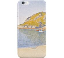 Paul Signac - Port of Saint-Cast . Seascape iPhone Case/Skin
