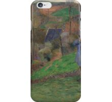 Paul Gauguin - Landscape of Brittany  iPhone Case/Skin
