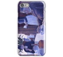 Paul Signac - Breakfast  iPhone Case/Skin