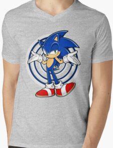 Sonic : Who Else ? Mens V-Neck T-Shirt