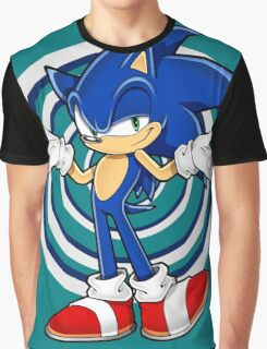 Sonic : Who Else ? Graphic T-Shirt