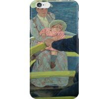 Mary Cassatt - The Boating Party 1893 - 1894 , American Impressionism  iPhone Case/Skin