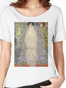 Gustav Klimt  - Portrait of Baroness Elisabeth Bachofen Women's Relaxed Fit T-Shirt