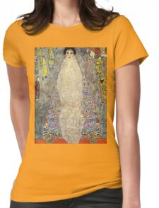 Gustav Klimt  - Portrait of Baroness Elisabeth Bachofen Womens Fitted T-Shirt