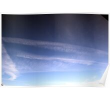 Moody Cirrus Sky Poster