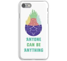 Zootopia - Anyone Can Be Anything [WHITE] iPhone Case/Skin