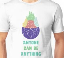 Zootopia - Anyone Can Be Anything [WHITE] Unisex T-Shirt