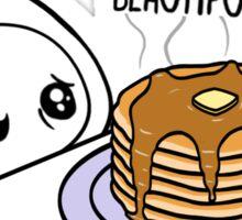 FuzzyThoughts - Pancakes Sticker