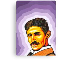 Tesla in Electric Ladyland Canvas Print