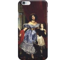 Karl Bryullov Bryullo - Portrait of Countess Samoilova 1832 - 1834 Fashion Woman Portrait iPhone Case/Skin