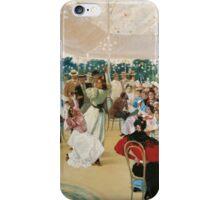 Julio Romero de Torres - The Cordoba Fair . Romance  iPhone Case/Skin