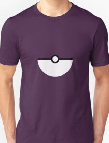 Flat half pokeball T-Shirt