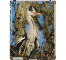 Grey Heron iPad Case/Skin