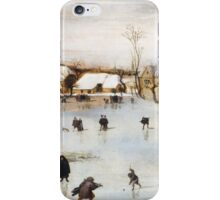 Jacob Grimmer - The Winter . Landscape  iPhone Case/Skin