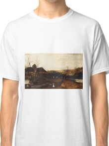 Jacob Grimmer - The Autumn  .Landscape  Classic T-Shirt