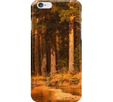 Ivan Shishkin - Mast-Tree grove 1887 . Landscape  iPhone Case/Skin