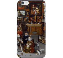 Hieronymus Francken II - Portrait . Fashion  iPhone Case/Skin