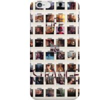 Wall of pictures iPhone Case/Skin