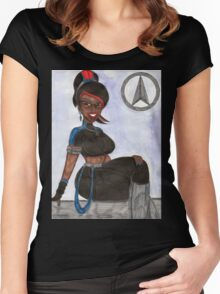 Lady Gwen Women's Fitted Scoop T-Shirt