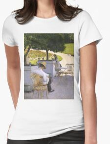 Gustave Caillebotte - The Orange Trees 1878 , Still Life Womens Fitted T-Shirt