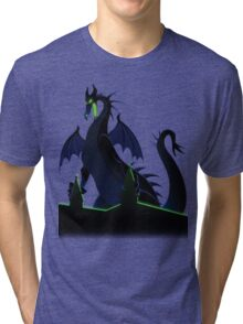 RAGE OF MALEFICENT Tri-blend T-Shirt