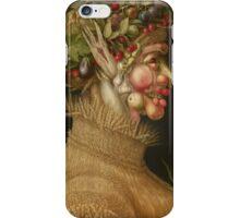 Giuseppe Arcimboldo - Summer 1563 , Fashion Portrait, Italian Handsome Man. iPhone Case/Skin