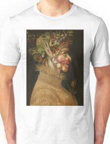 Giuseppe Arcimboldo - Summer 1563 , Fashion Portrait, Italian Handsome Man. Unisex T-Shirt