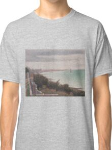 Georges Seurat  - Grandcamp, Evening 1885 Classic T-Shirt