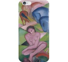 Franz Marc - The Dream 1912 Fashion Portrait iPhone Case/Skin