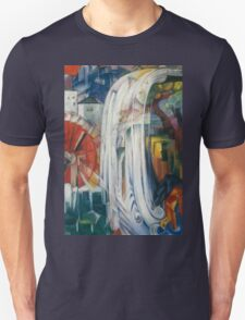 Franz Marc - The Bewitched Mill 1913  Landscape  Unisex T-Shirt