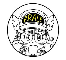 Arale Dr Slump Photographic Print