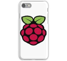 raspberry logo iPhone Case/Skin