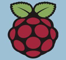 raspberry logo One Piece - Short Sleeve