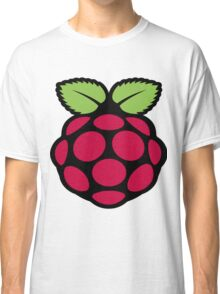raspberry logo Classic T-Shirt