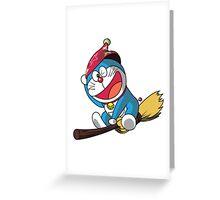 Magic Doraemon Greeting Card