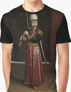 Seliktar Agassi, Equerry to the Sultan (Supreme Weapon-Bearer), workshop of Jean Baptiste Vanmour,  Graphic T-Shirt