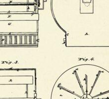 Cloth Frame-1864 Sticker