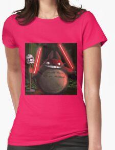 darth totoro Womens Fitted T-Shirt