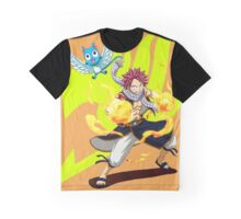 Super Natsu - Yellow Logo Graphic T-Shirt