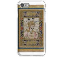Shah Abbas II (reigned ), 17th century. iPhone Case/Skin