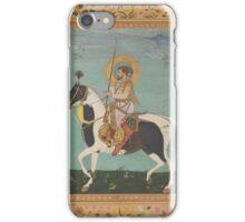 Shah Jahan on Horseback, Folio from the Shah Jahan Album, iPhone Case/Skin