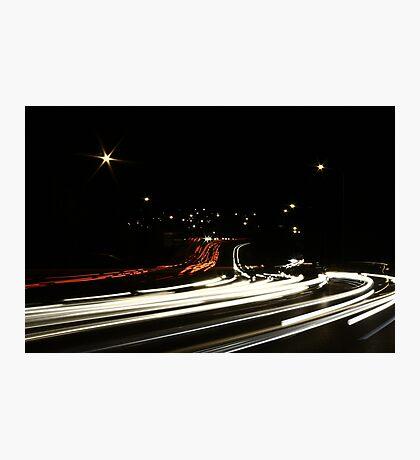 Approaching Anzac Bridge 1 Photographic Print