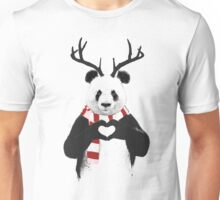 Xmas panda Unisex T-Shirt