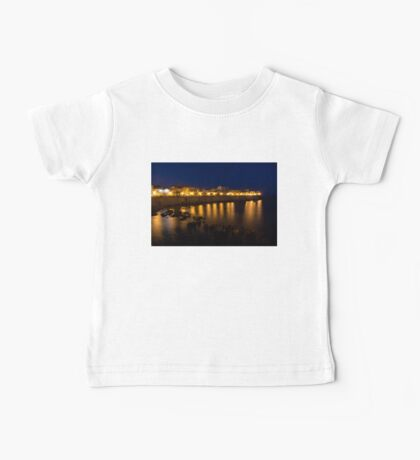 Royal Blue and Gold - Syracuse, Sicily from the Sea Promenade Baby Tee