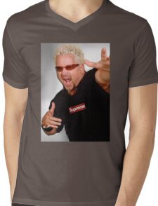 Guy Fieri x Supreme Mens V-Neck T-Shirt