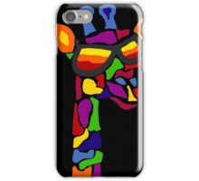 Hilarious Cool Giraffe Wearing Sunglasses Abstract iPhone Case/Skin