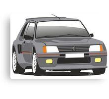 Peugeot 205 T16 road car Canvas Print