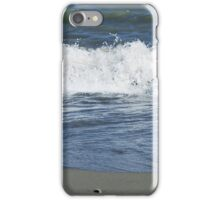 wave splashes over the sea on a Sunny day iPhone Case/Skin