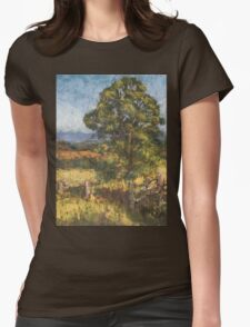 Beechwood - plein air Womens Fitted T-Shirt